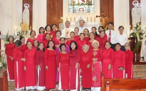 Thánh lễ Tạ ơn của Cộng đoàn Lòng Thương Xót Chúa hạt Gia Định tại Giáo xứ Thị Nghè ngày 12-6-2020