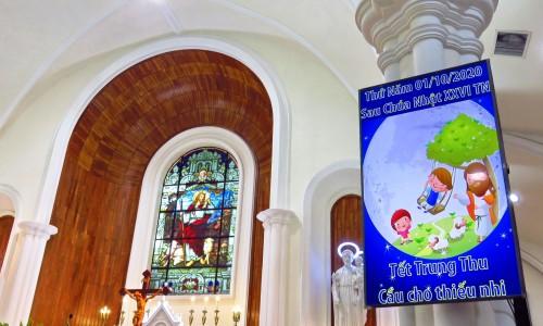 """Giáo xứ Thị Nghè: """"Vui Trung thu có Chúa"""" ngày 01-10-2020"""
